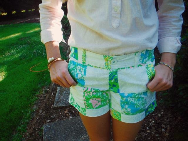 Bright Shorts Link-Up