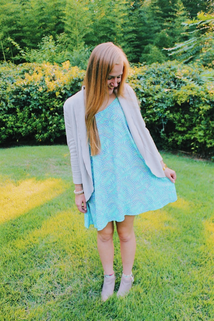 How to Style Your Favorite Summer Sundress in the Fall