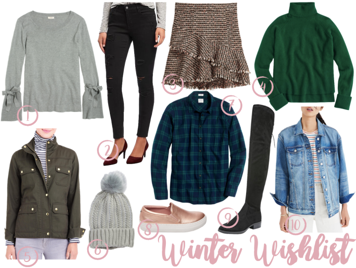 Winter Wishlist 2018