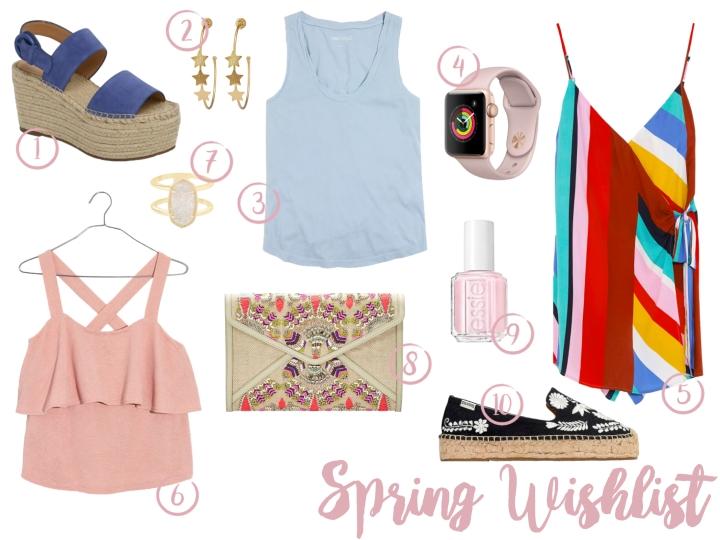 Spring Wishlist 2018