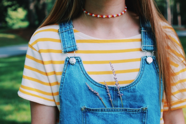 Yellow Stripes & Overalls