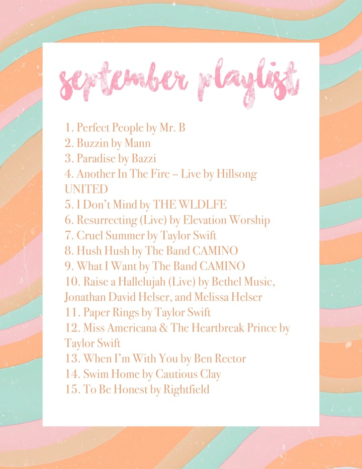 September Playlist 2019